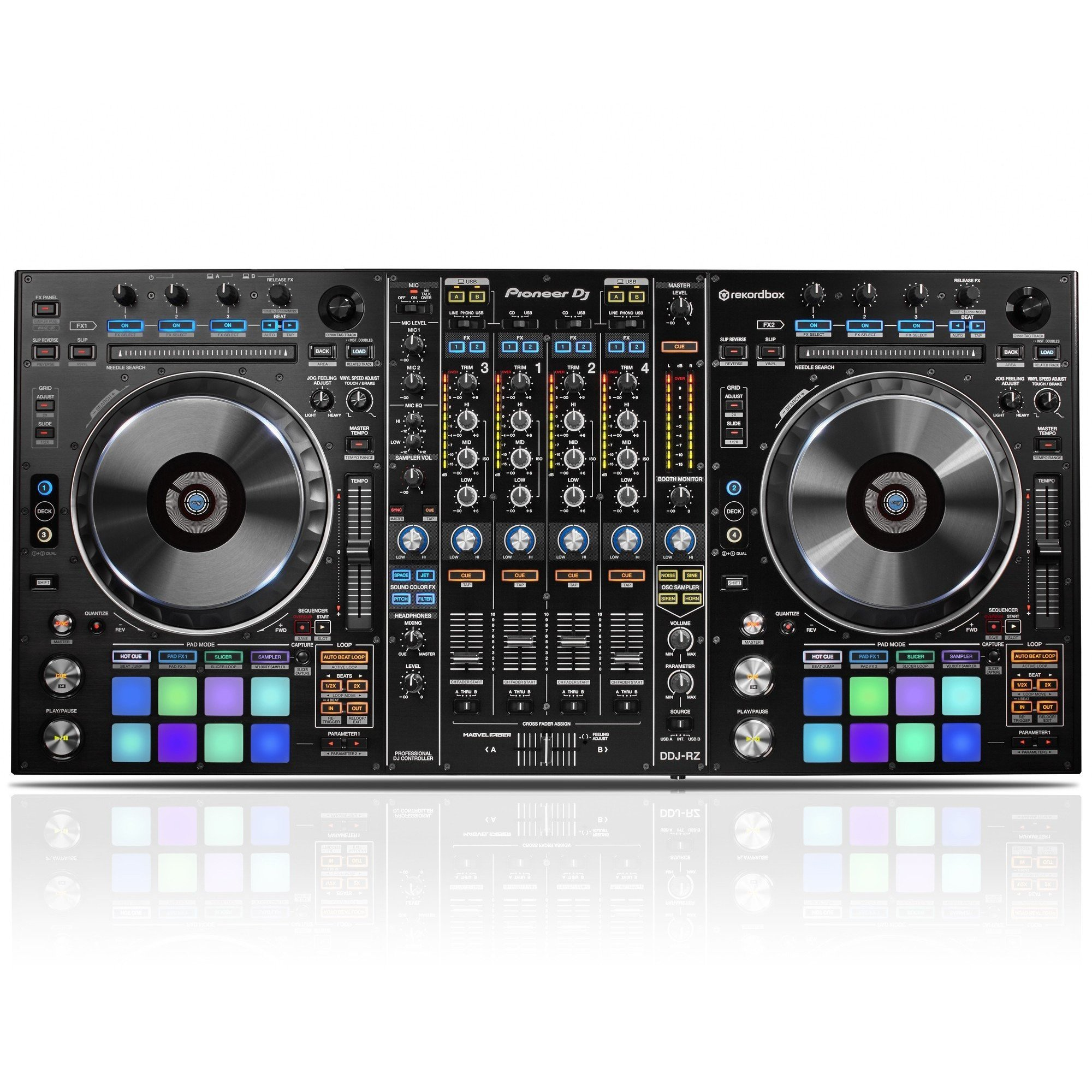 Pioneer DDJ-RZ : Flagship 4 Channel DJ Controller