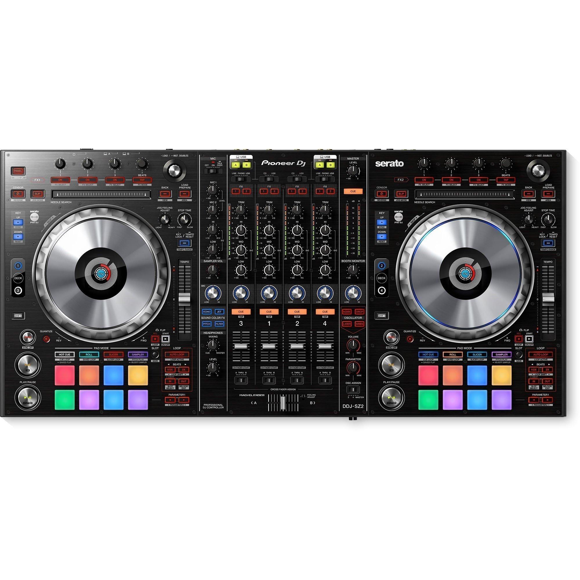 Pioneer DDJ-SZ2 : Flagship 4 Channel DJ Controller